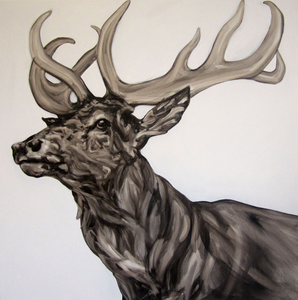 Stag by Abigail Reed, Artist